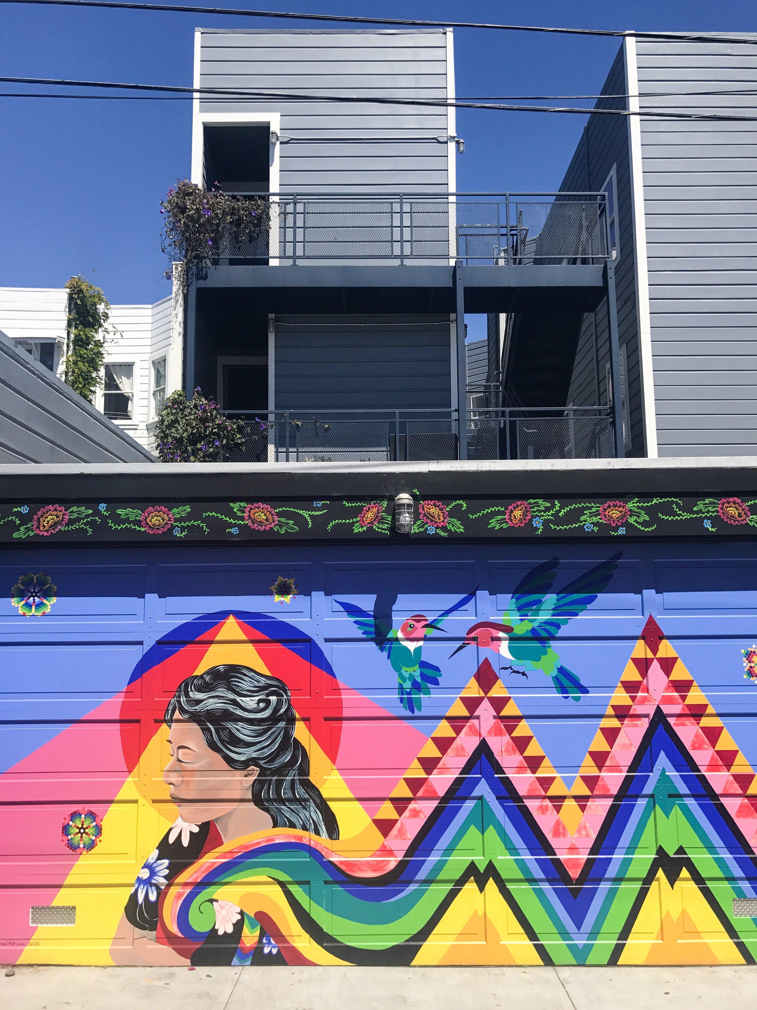 balmy alley san francisco murals