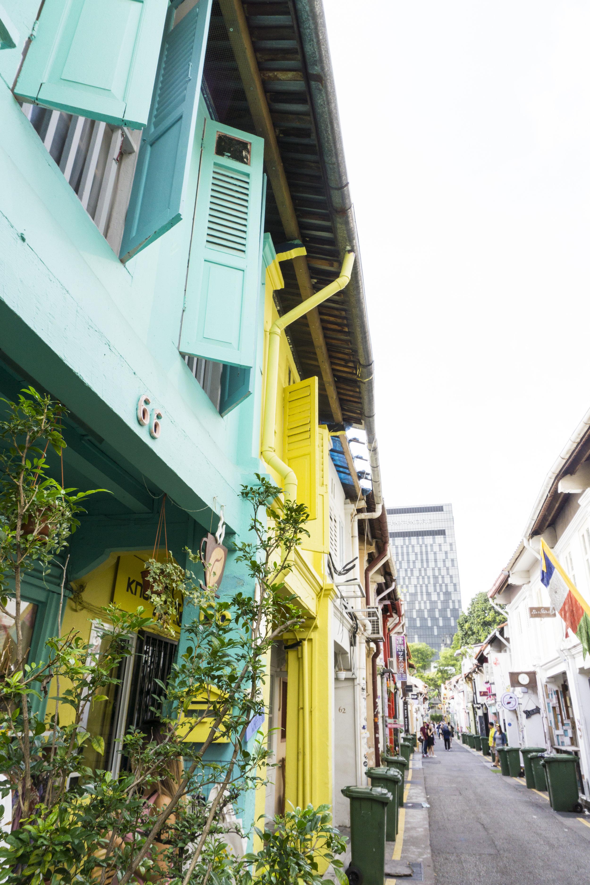 haji lane singapore shopping