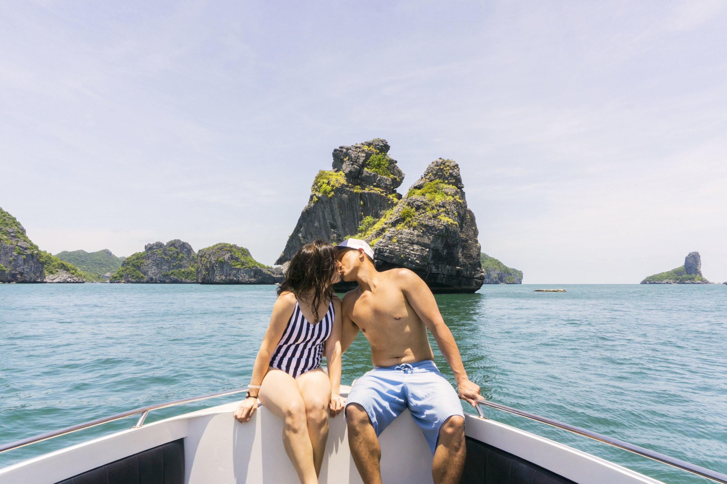 love in thailand koh samui boat tour