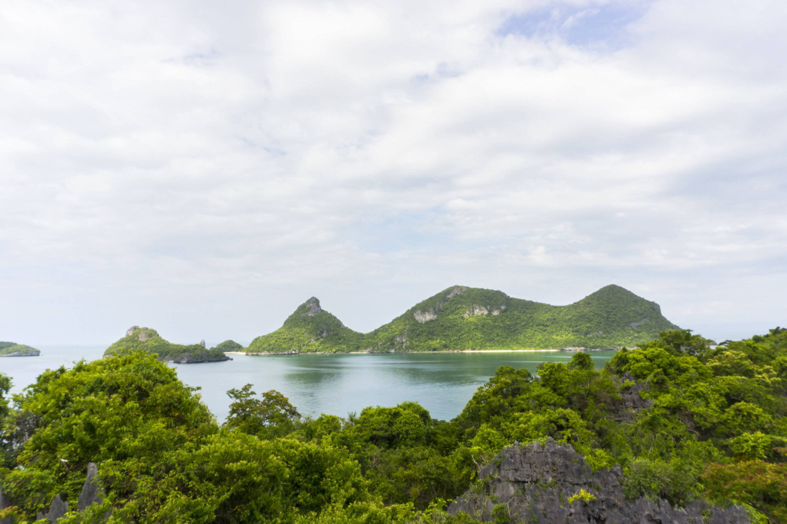 ang thong marine park emerald lake hike