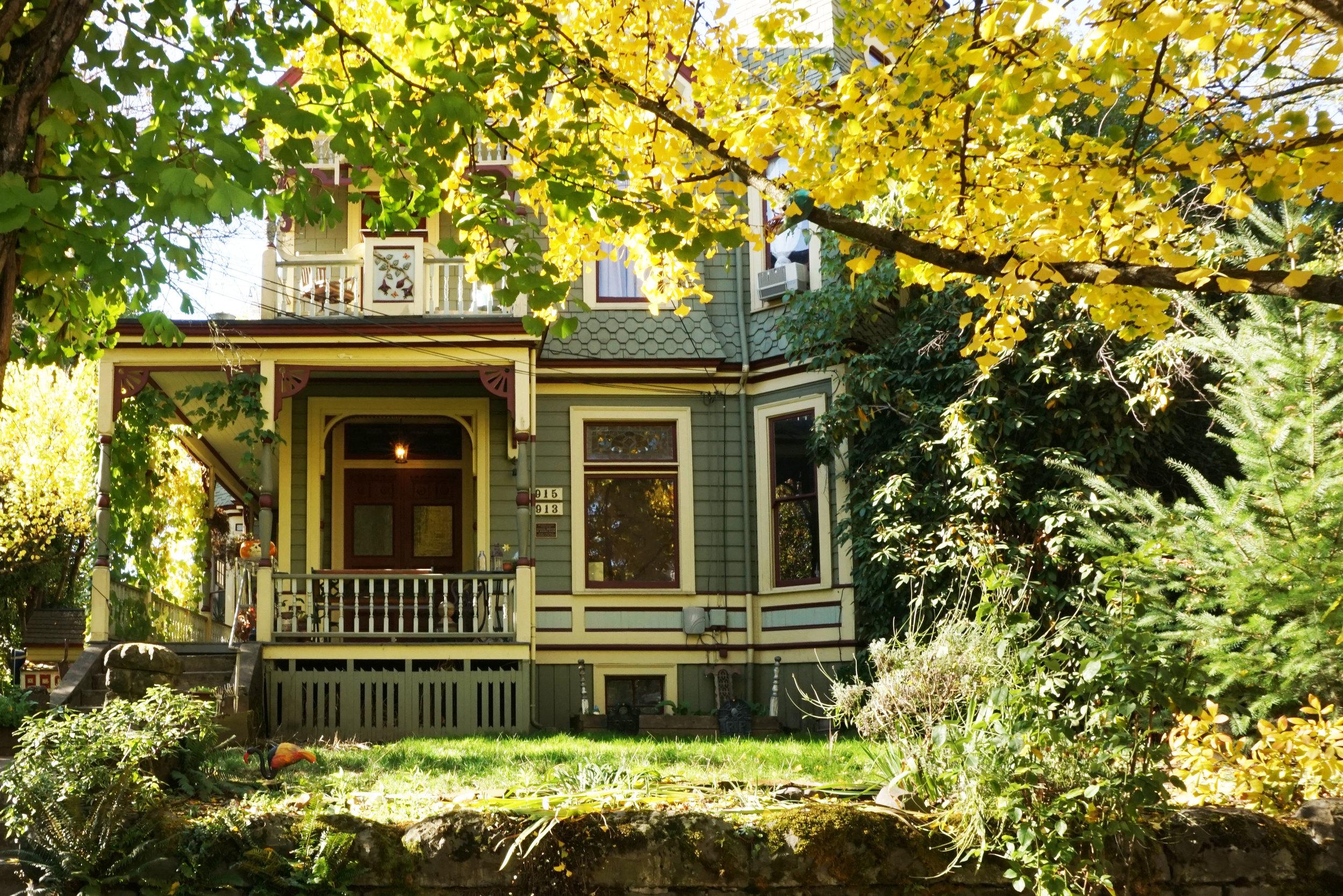 portland houses fall weekend