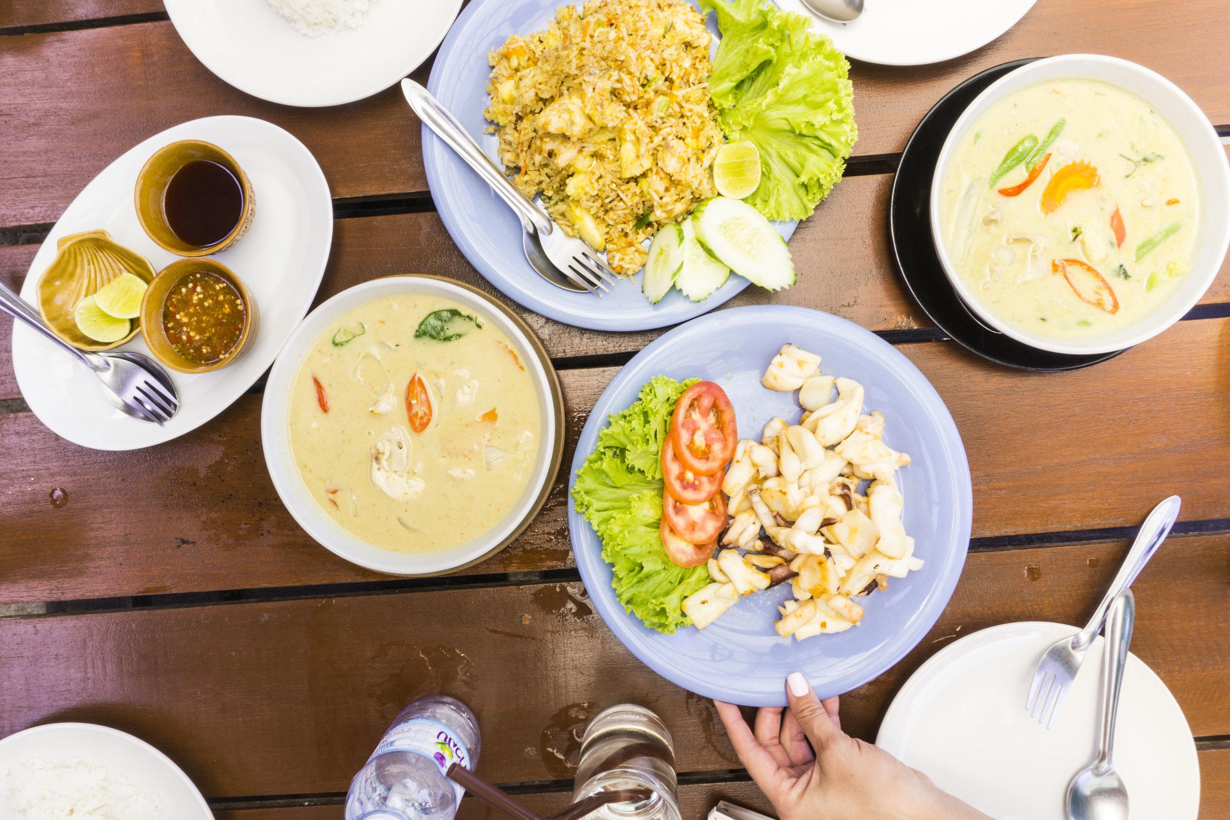 thailand lunch