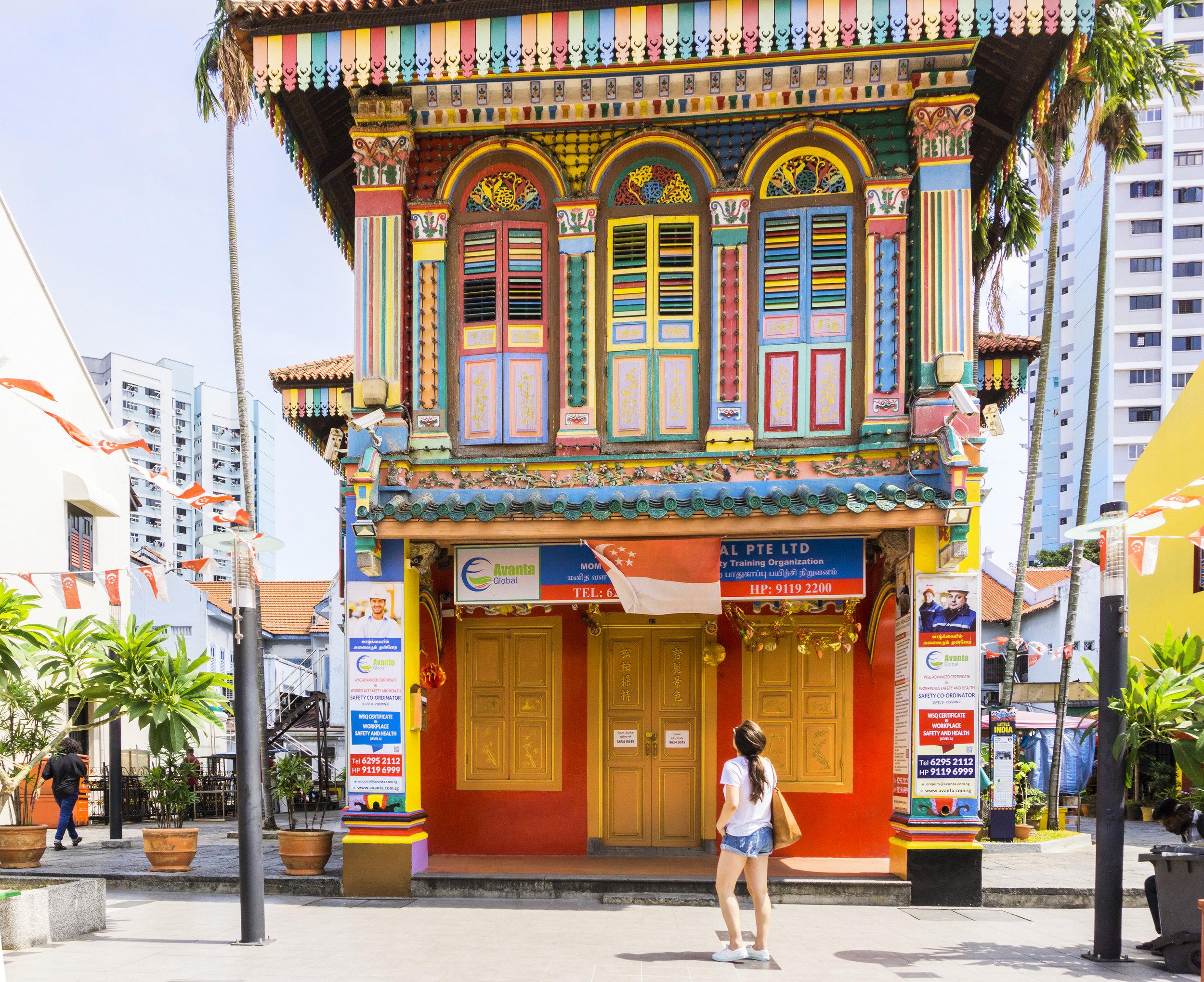 singapore inspiration colorful buildings