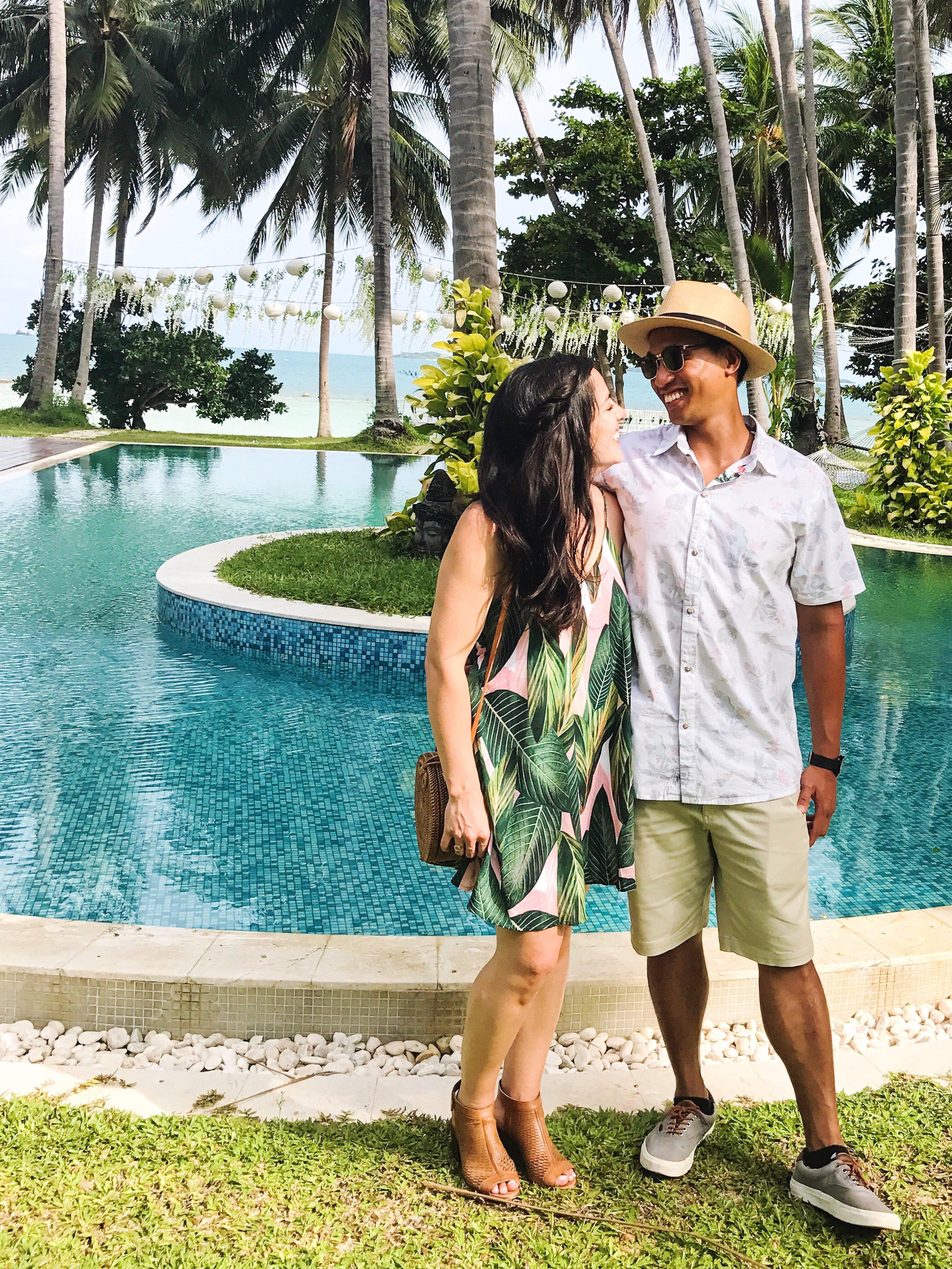 tropical destination wedding outfit inspo show me your mumu