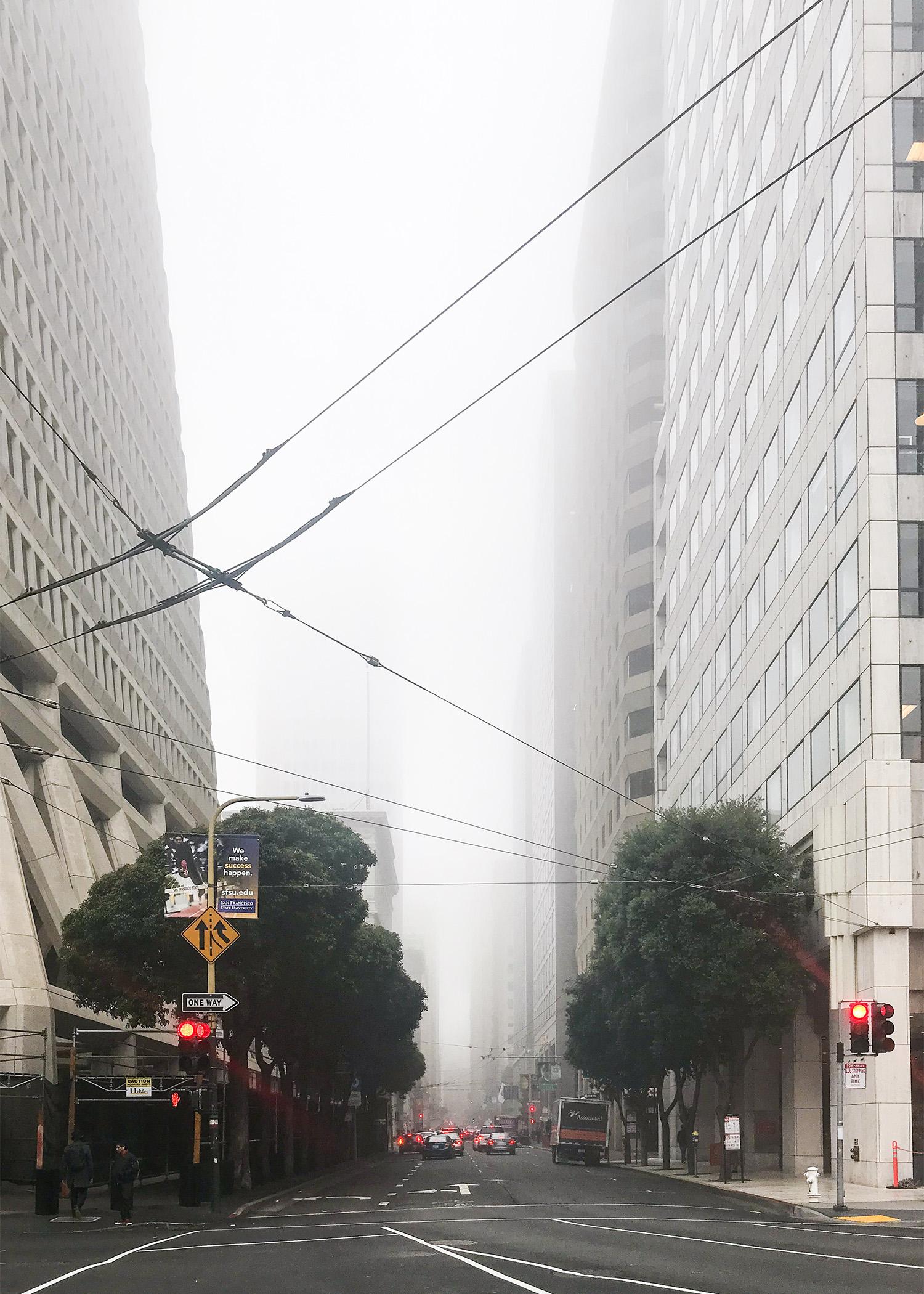 Foggy San Francisco