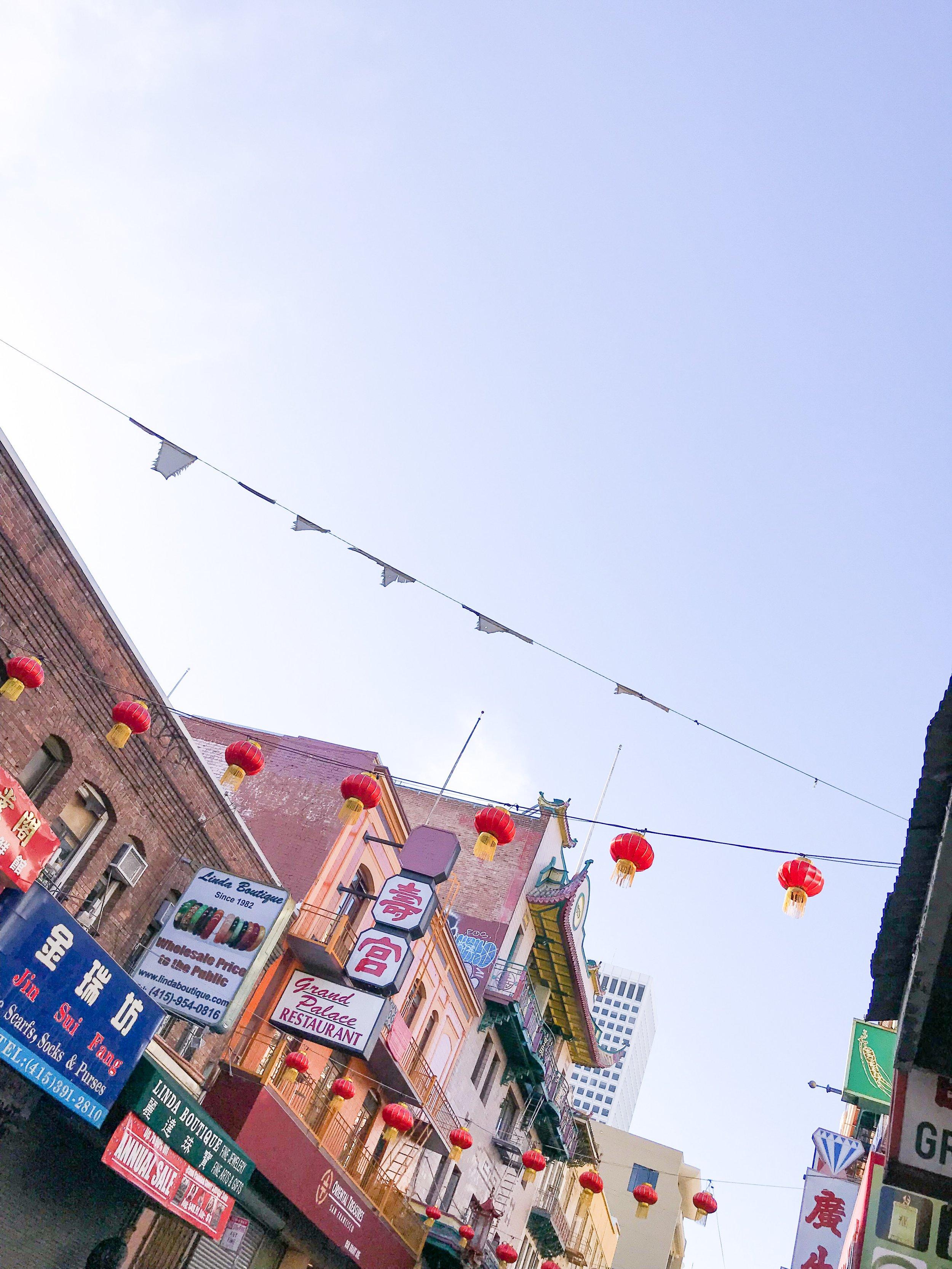 guide to san francisco chinatown walking