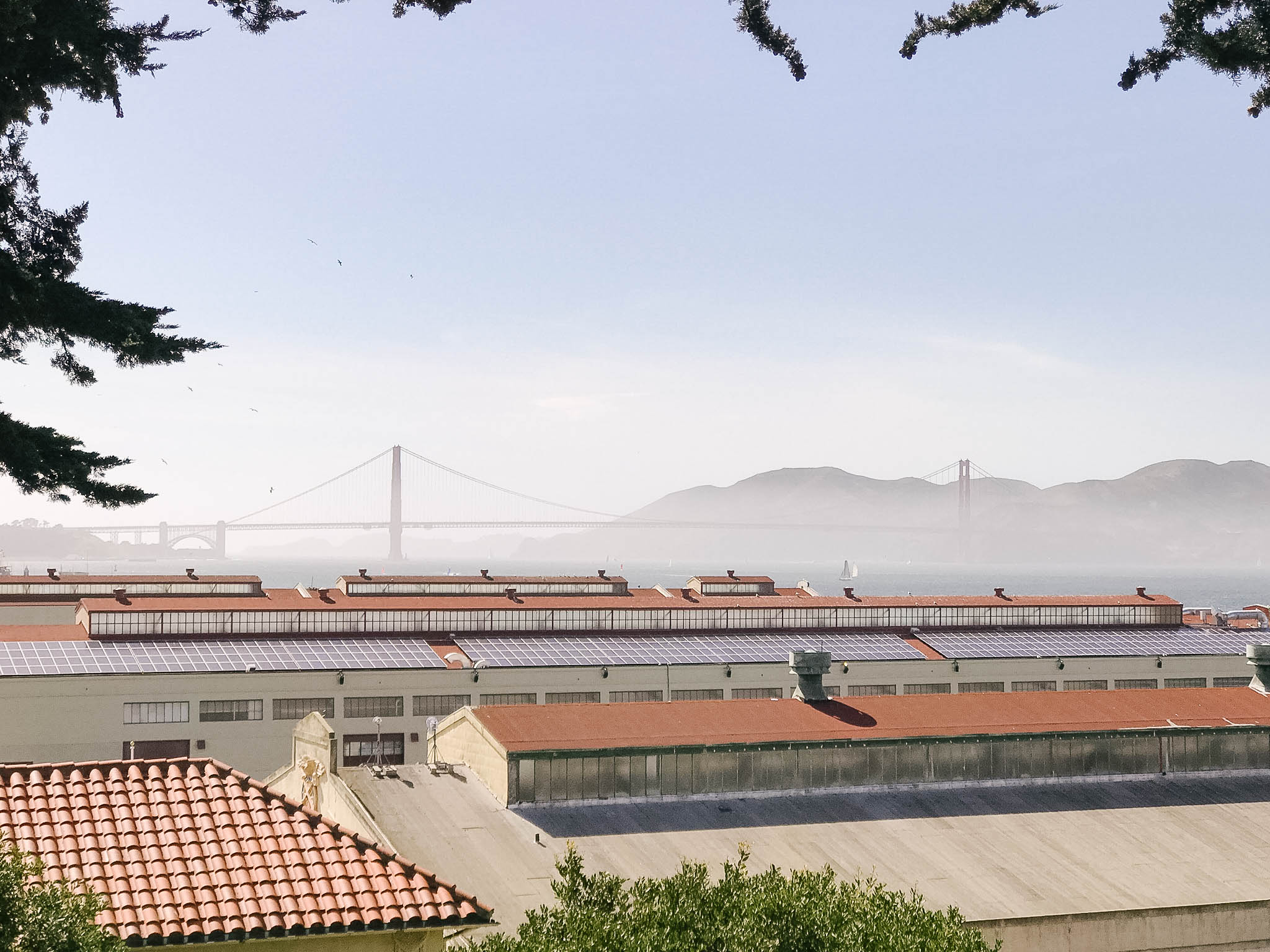 Golden Gate Bridge from Fort Mason overlook things to do san francisco