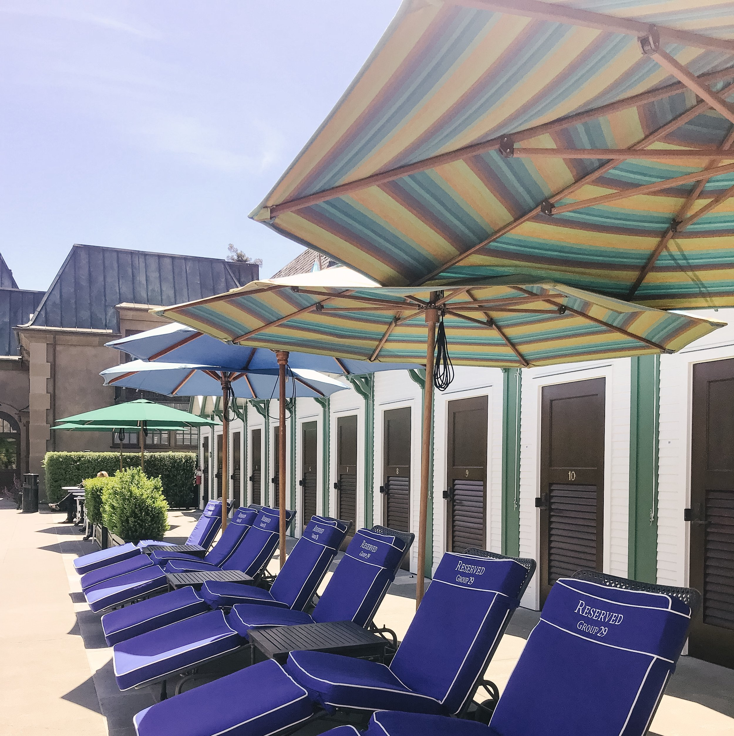 cabine rental tips francis ford coppola winery pool