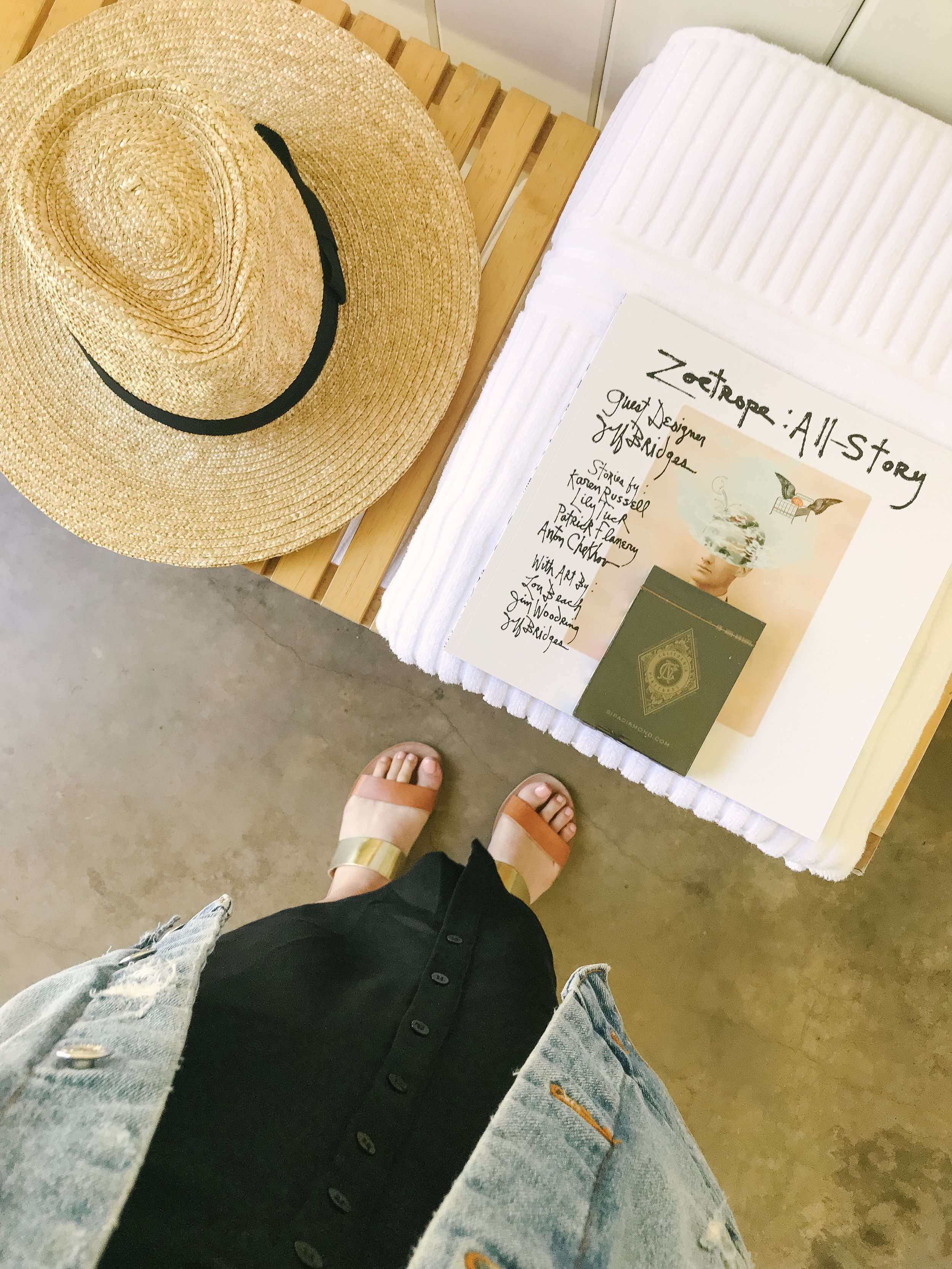 poolside outfit ideas wine country day trip