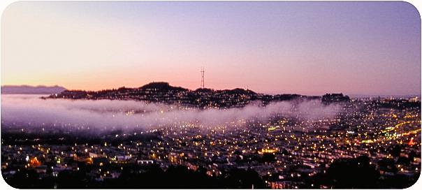 Crocker Amazon view of San Francisco, 2009*