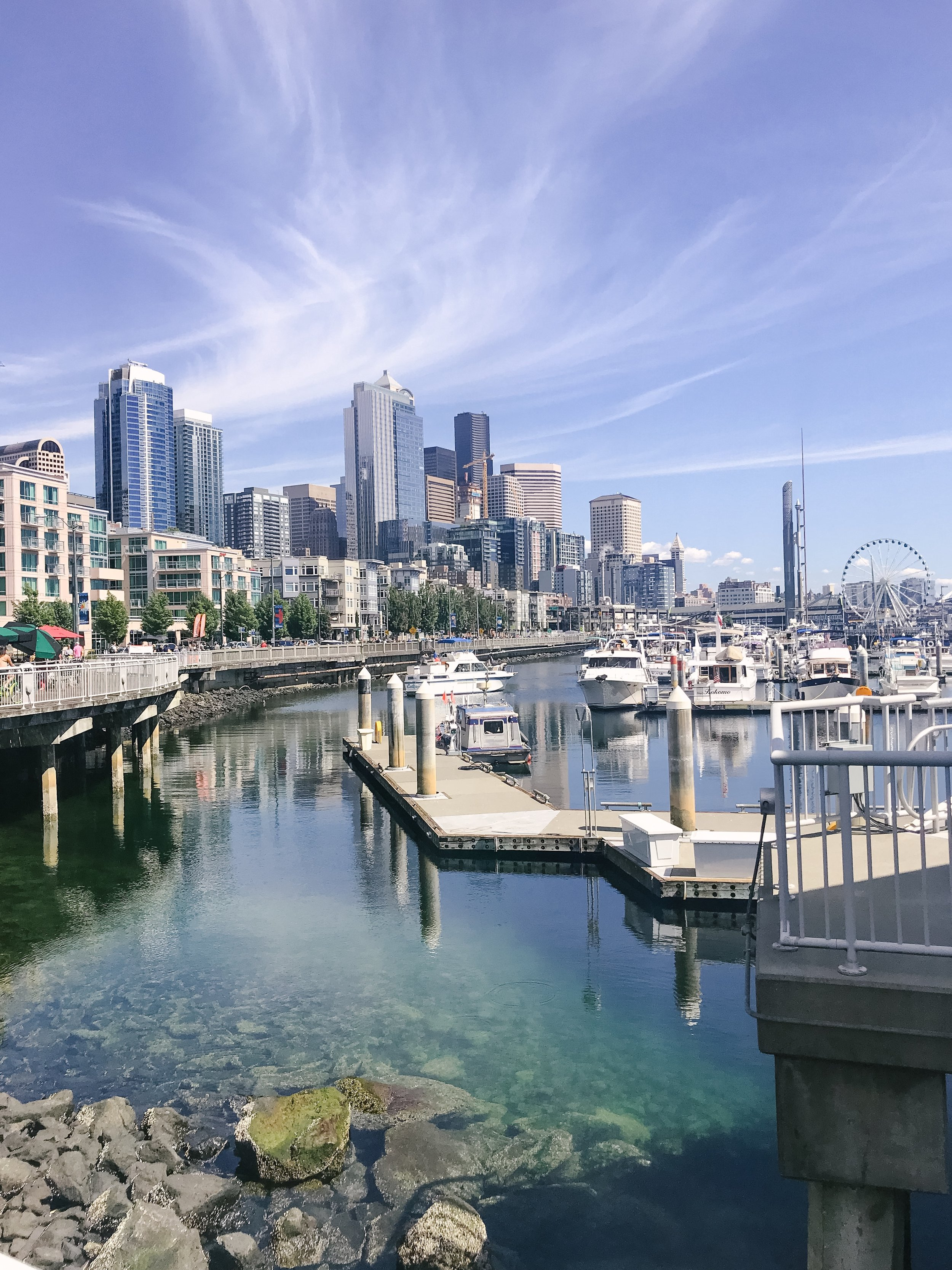 seattle in the summer