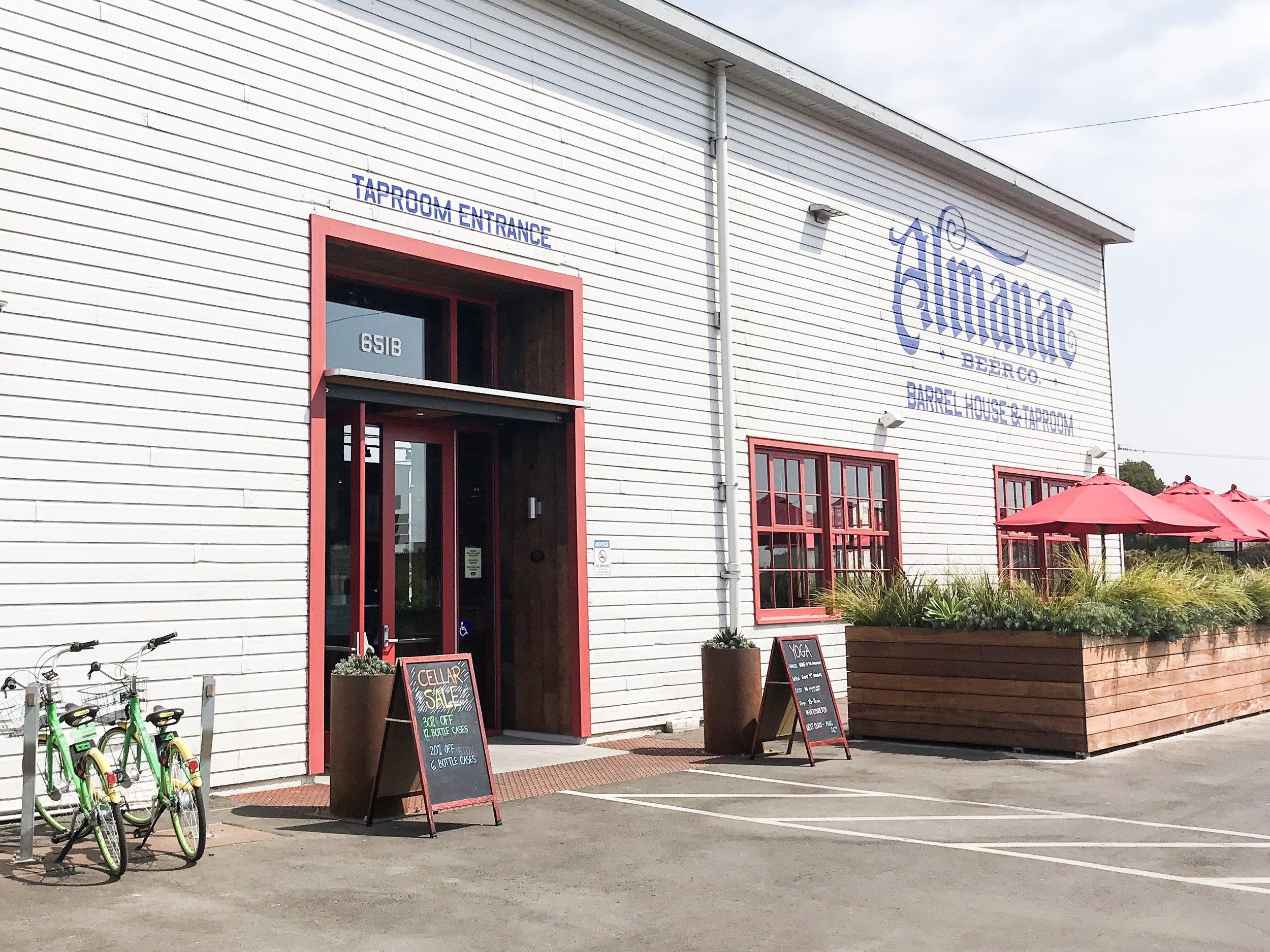 almanac brewing alameda things to do