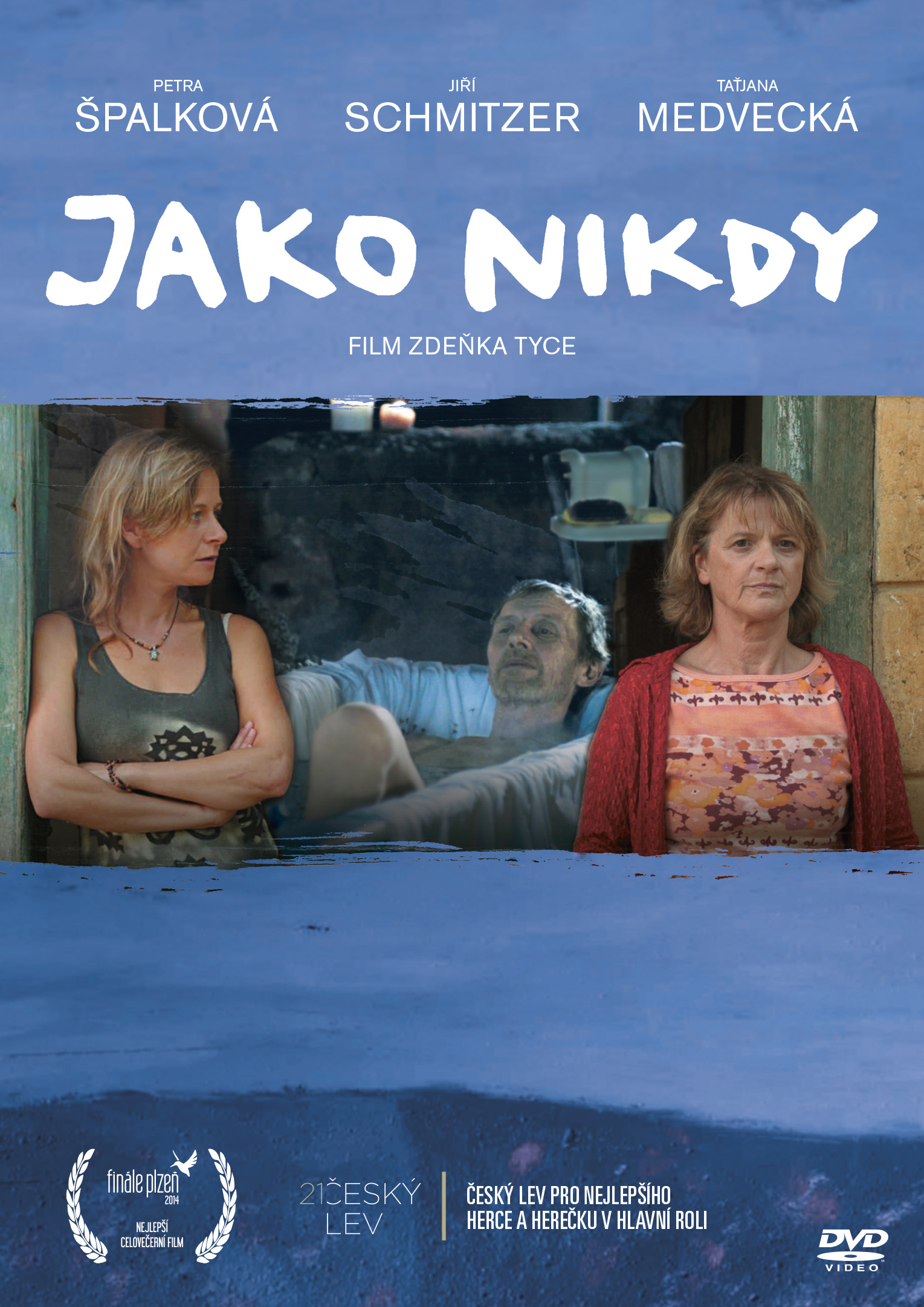 OBAL DVD JAKO NIKDY