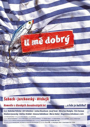 Český plagát U mě dobrý