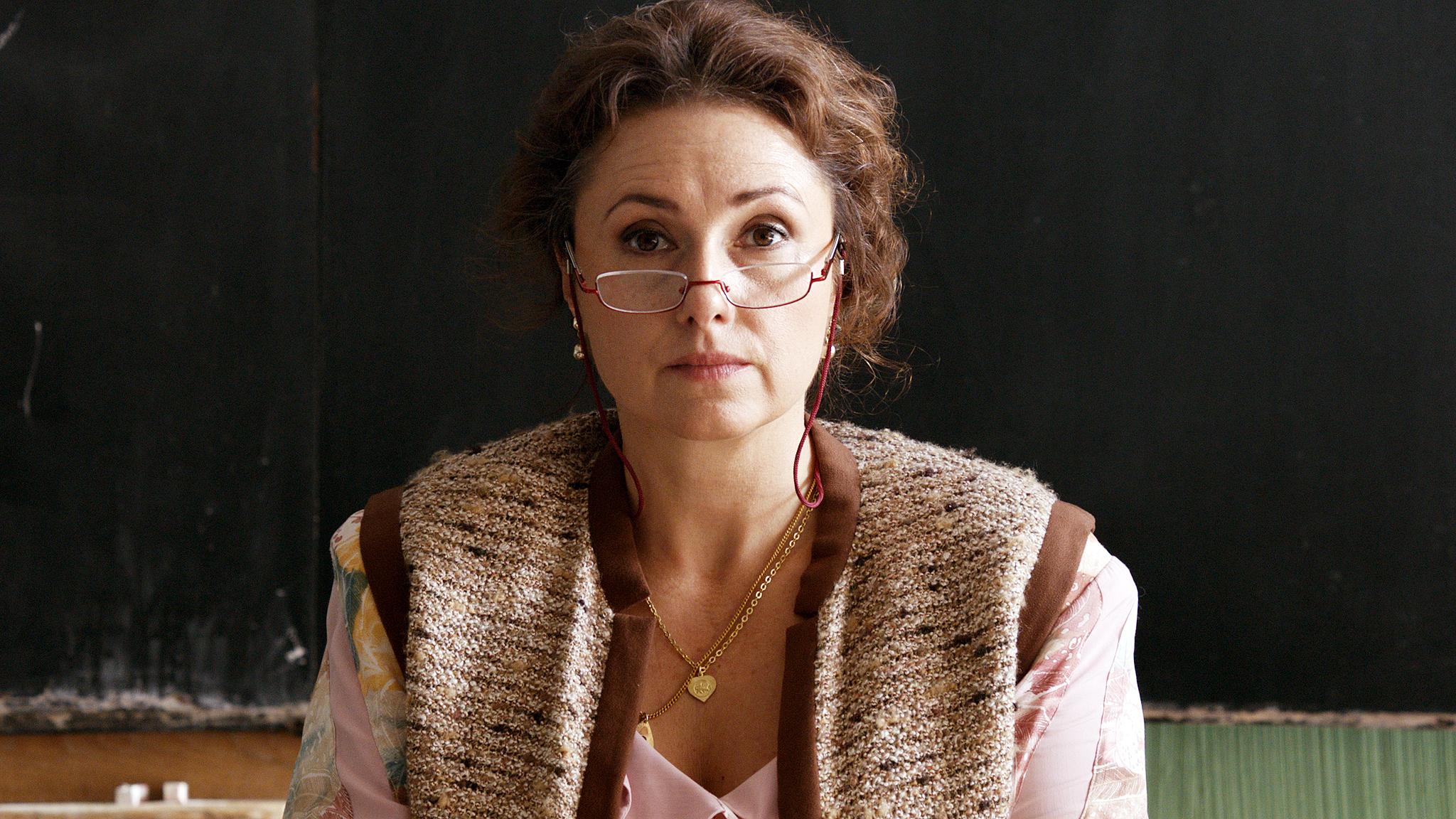 The KVIFF 2016 Best Actress  Zuzana Maurery  from Slovakia (Mrs. Drazdechova, The Teacher). Photo by PubRes, 2015.