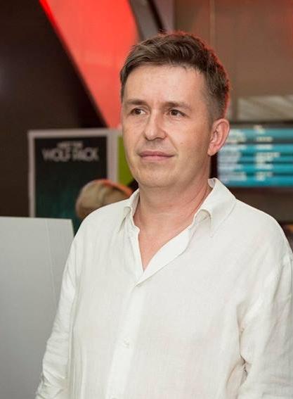 Mr. Michal Novinski, The Teacher movie music composer, photo by PubRes, 2016.  Michal Novinski, skladateľ hudby k filmu Učiteľka, foto: PubRes, 2016.