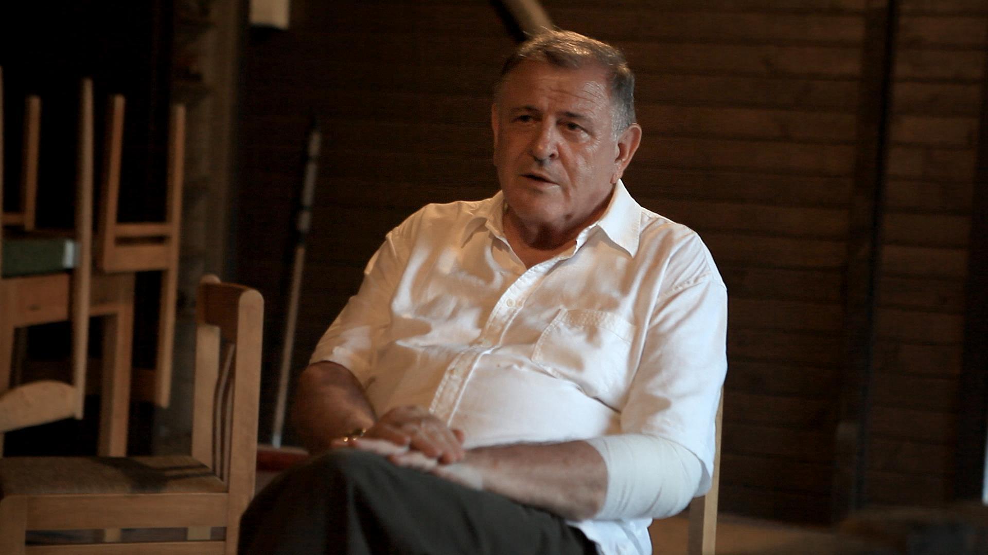 Vladimír Mečiar (záber z filmu).