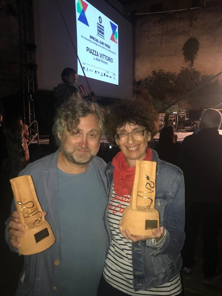 Ocenenia prevzali režisér Jan Hřebejk a producentka filmu Zuzana Mistríková (foto: (c) 2018, PubRes).