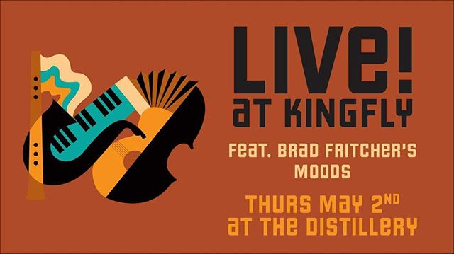#bradmoods has been stoked to play at @kingflyspirits since we heard of their concept. @naragonparagon @carterfreiji @f3ralcat and I will be their TONIGHT from 7-10. Come help get the Strip vibes happenin!  #pgh #thursday #vibes #craft #cocktails #thestrip #smallman #liveatkingfly #original #music #BAM