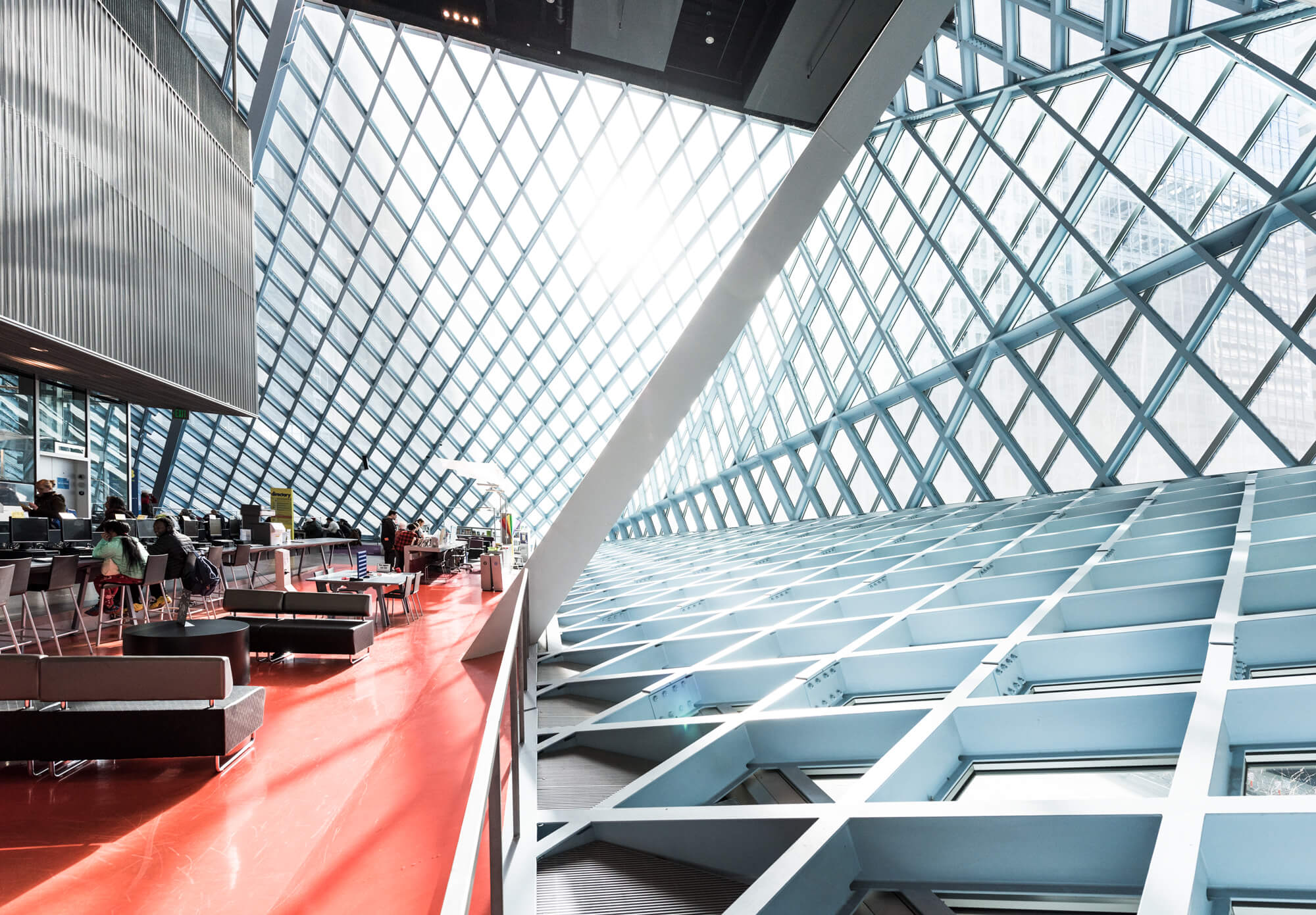 Seattle Public Library | Rem Koolhaas (OMA) and LMN Architects