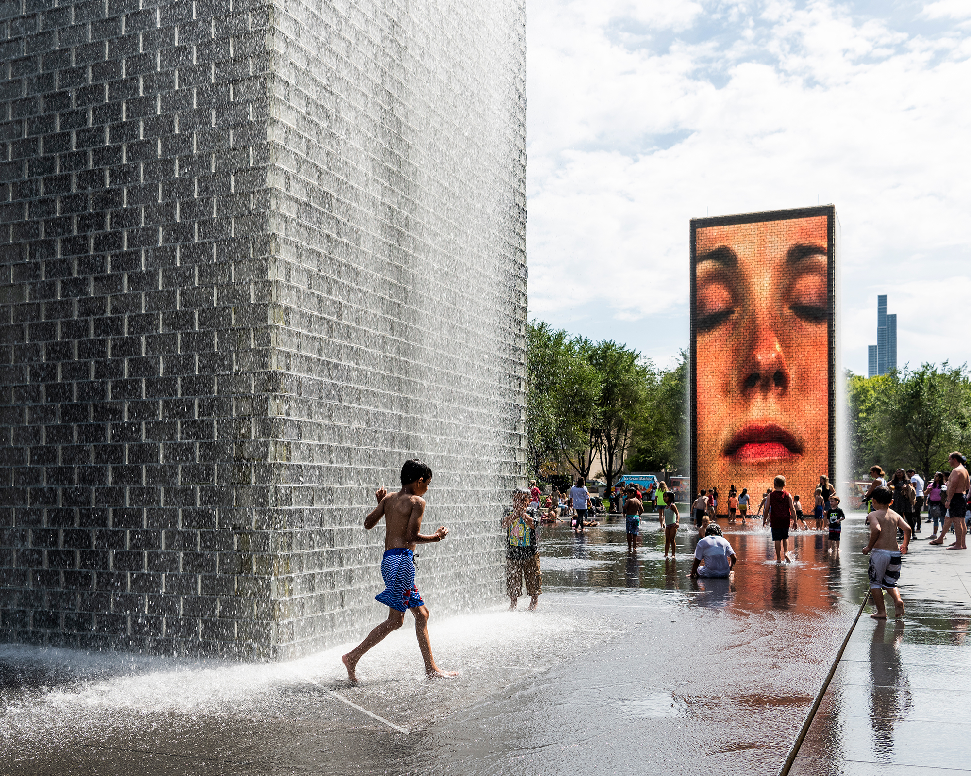 Crown Fountain | Chicago
