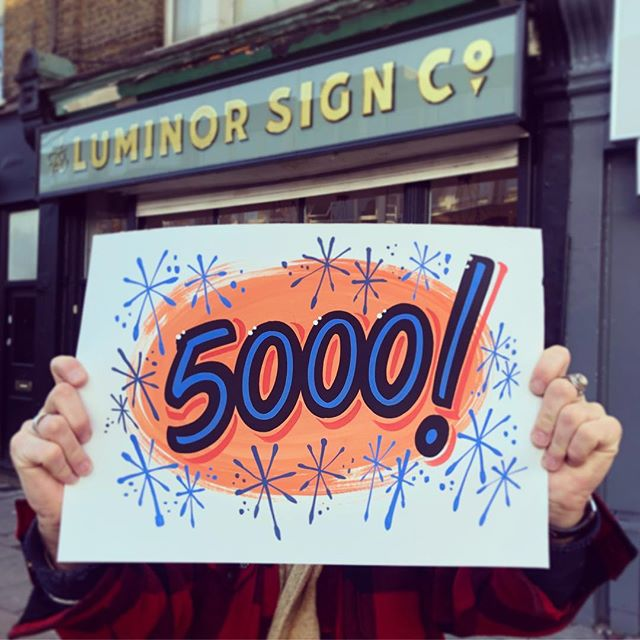 Thanks for following and supporting us, we're stoked to hit 5000! Stay tuned - we've got lots of exciting projects dropping soon! 🎨