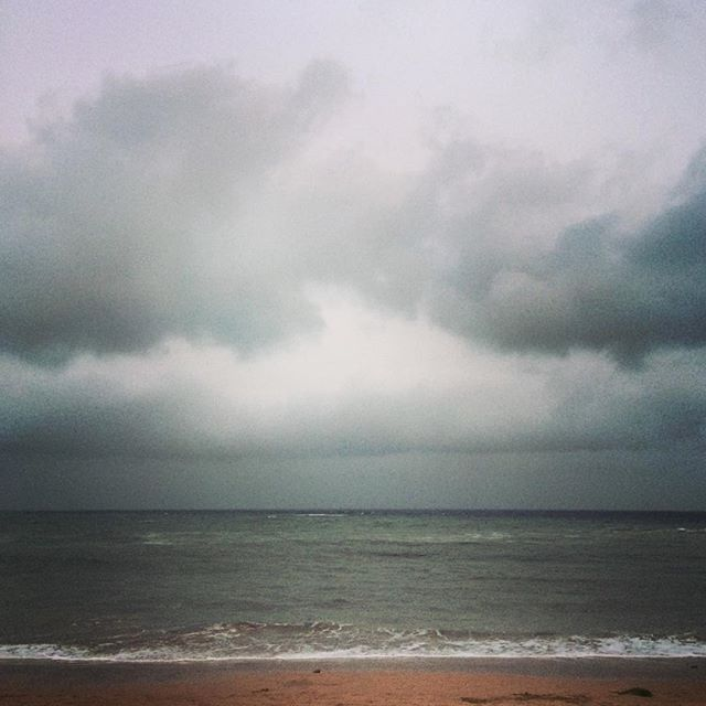 Cloudy beach day in #Karachi. Hardly even feels like its summer.