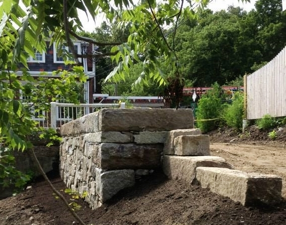 Choate Park Retaining Wall