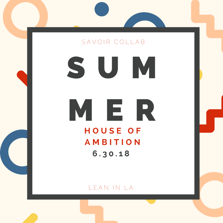 IT'S SUMMER, BUT LET'S FACE IT, YOUR AMBITION ISN'T ON VACATION, IS IT?