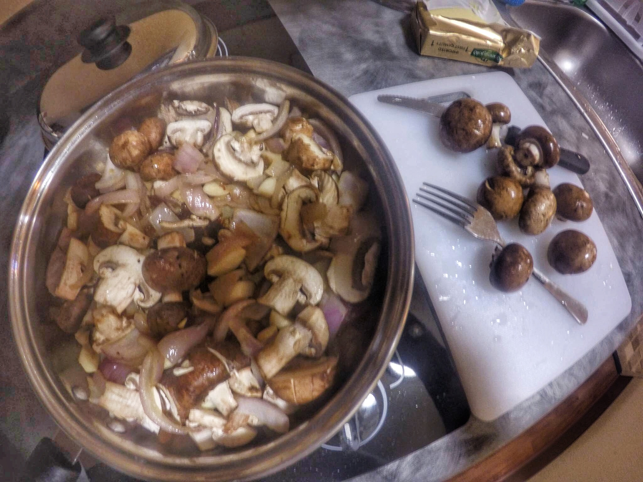Mushrooms are another great addition to any dish.