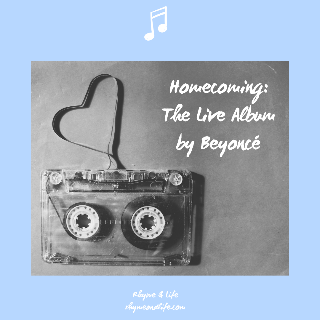 Homecoming: The Live Album was released on 17th April 2019 (Parkwood/Columbia).