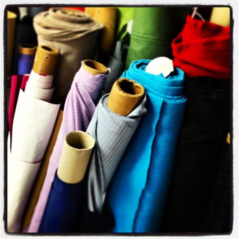 AMAZING donation from Patagonia of fabric for our Reimagine Fashion class! The group meets weekly and is creating designs from recycled sails and now has more material to work with and add color and texture to their patterns! #patagonia #communitybuilders #upcycle#fashion