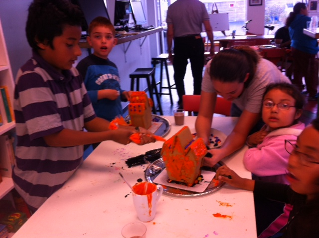 Friday Fun at Youth Interactive!!! Edible architecture class :) YUM!