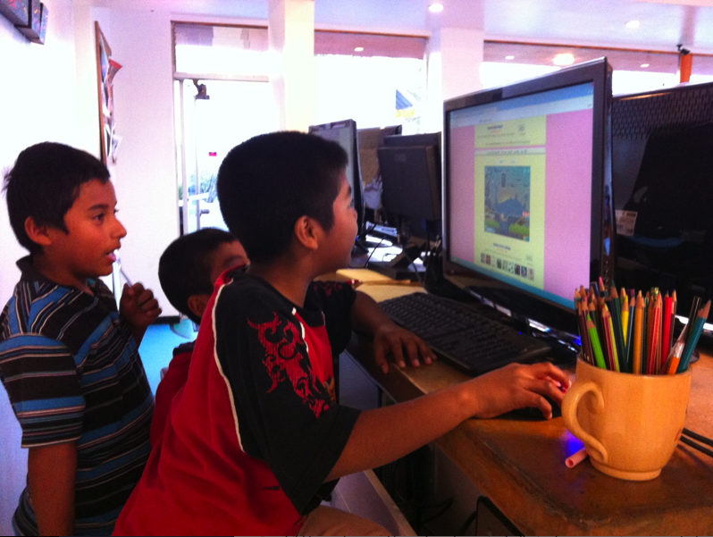 What do you get when you combine math problems with a computer game? A great time that challenges and educates!