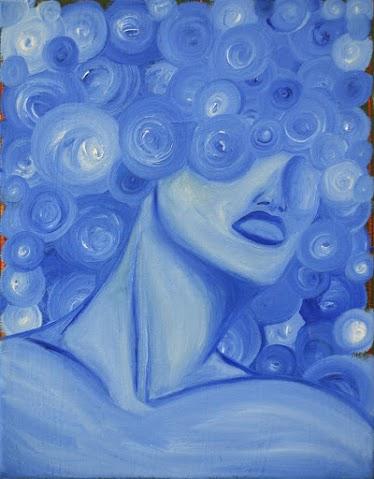 The Blue Woman, Karim Cortez