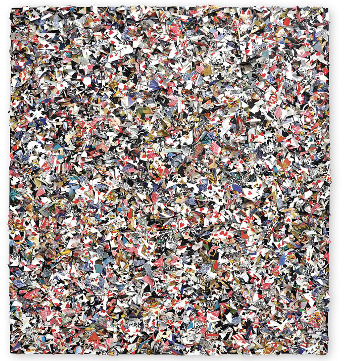 Dan Levin - Playing Card Mulch