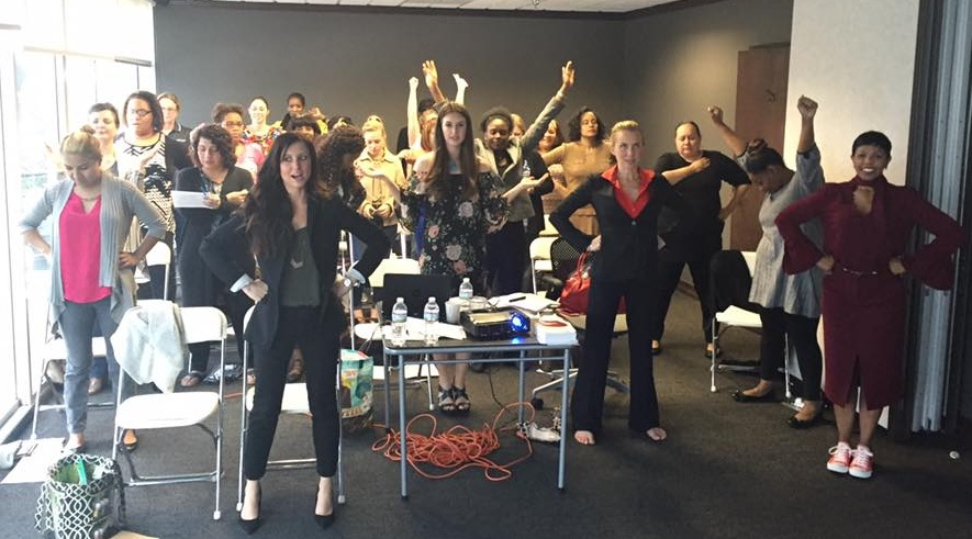 recent class in their Power Pose
