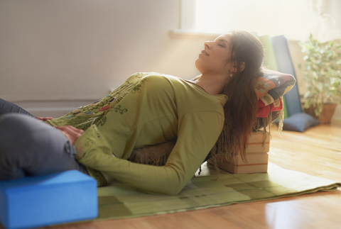 Yoga for Pelvic Pain - Join us in a class designed for those with overactive pelvic and low back muscles. Learn to ease discomfort by finding supported positions, engage the breath, and find gentle places of lengthening, acceptance, and quiet. Instructed by pelvic health physical therapist.
