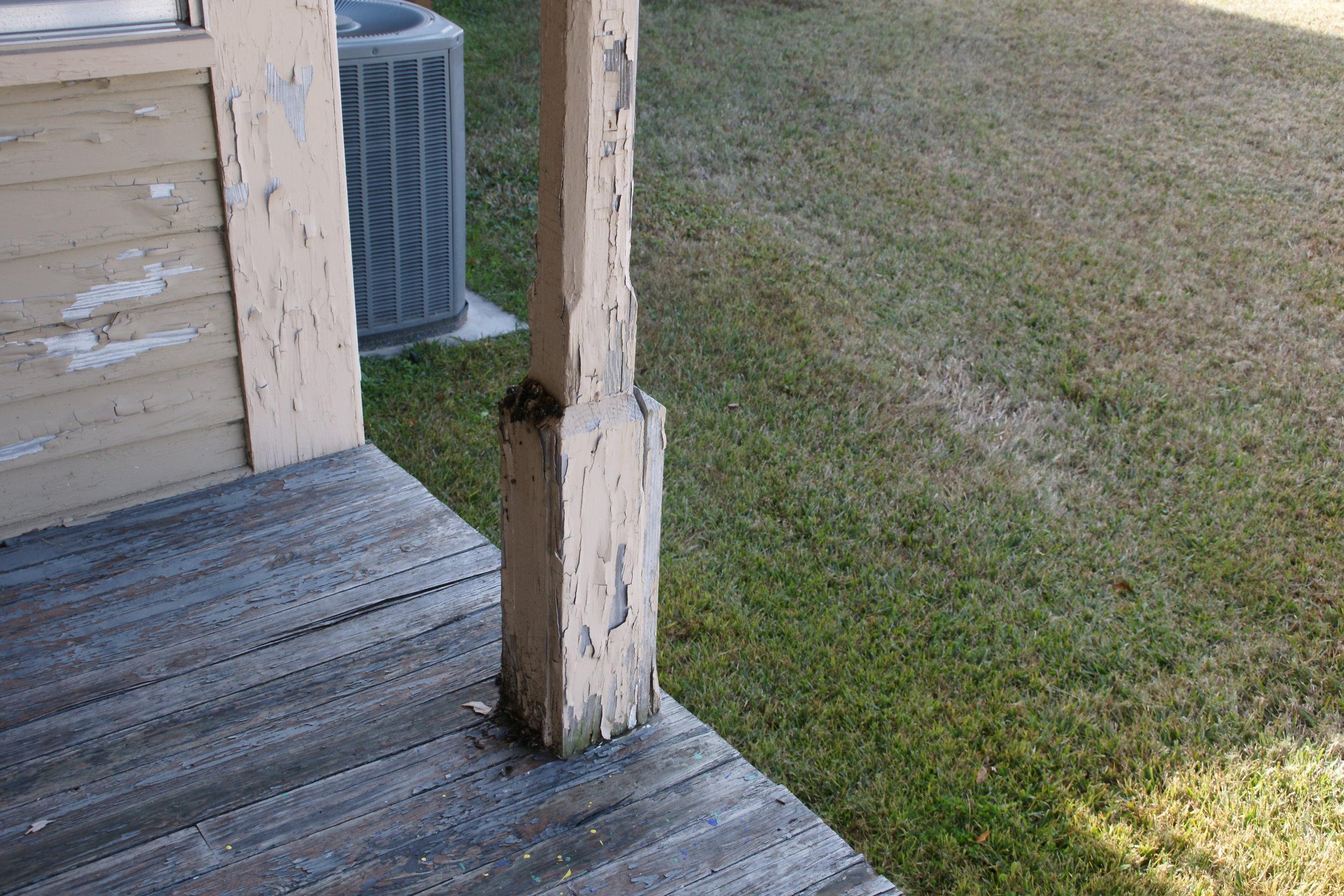 Back Porch Post.JPG