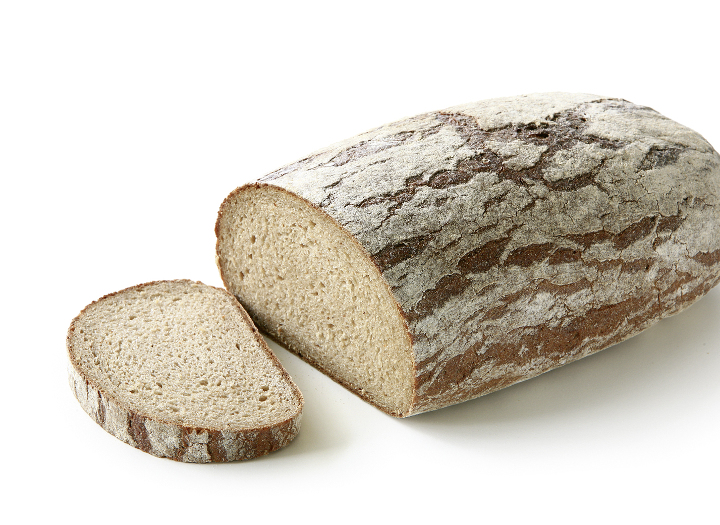 Country Bread - Rye mixed bread shaped oval with 31% rye flour length: 29 cm