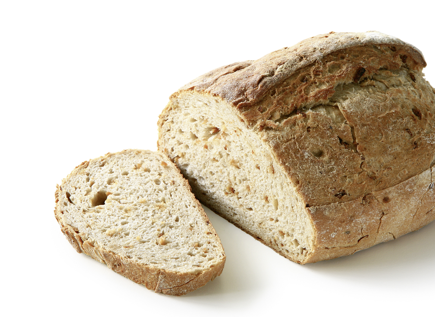 Onion Bread - Wheat bread with 47% wheat flour and 5.5% roasted onions length: 22.5 cm