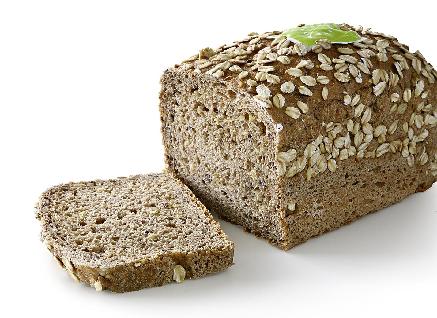 Organic Multi Grain Bread DE-ÖKO-006 - ORGANIC Multigrain Bread with nature sourdough, ORGANIC oat flakes, ORGANIC millet, ORGANIC sunflower kernels and ORGANIC linseed.
