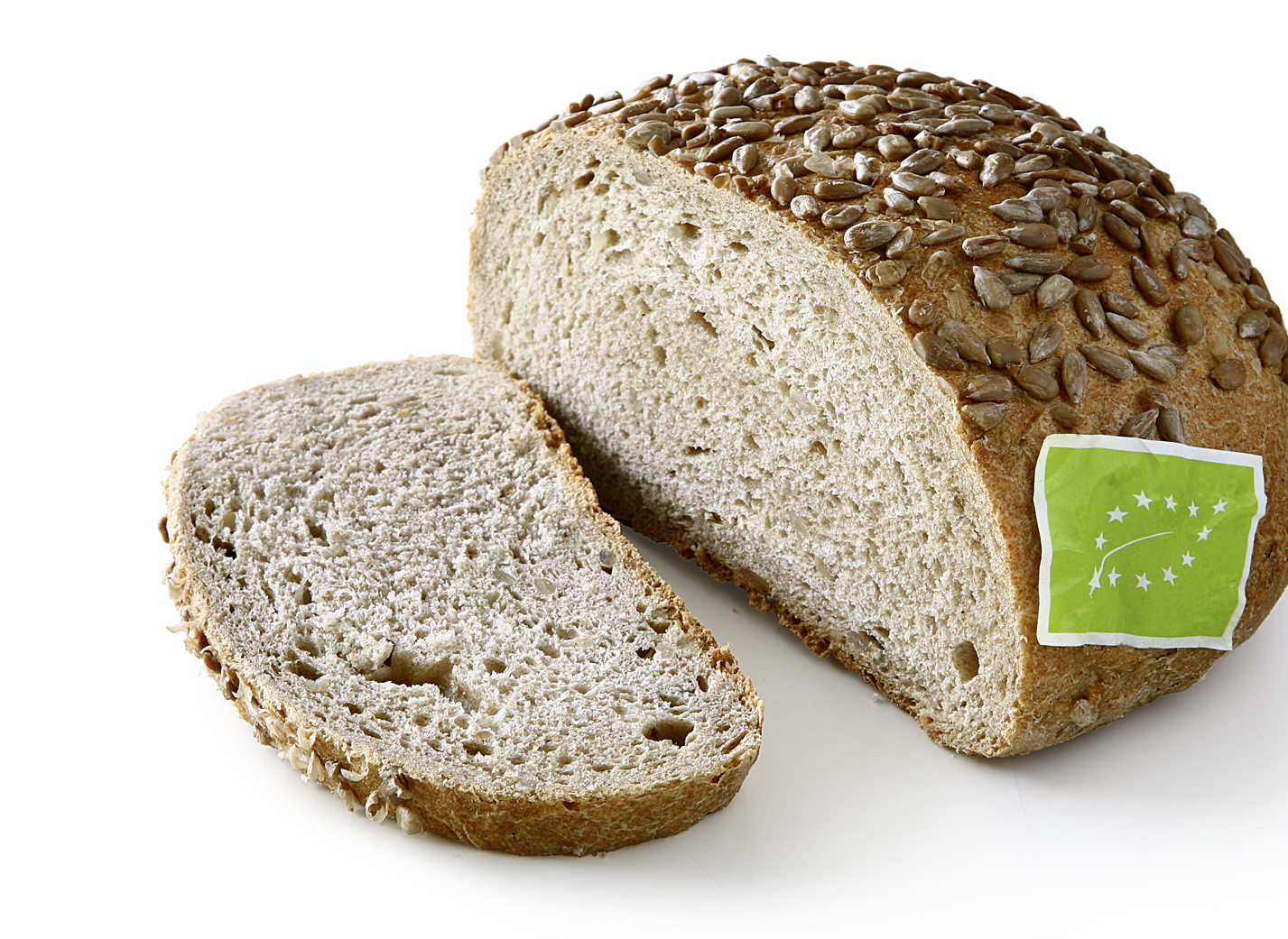 Organic Sunflower Bread DE-ÖKO-006 - ORGANIC Wheat mixed bread with 13% ORGANIC sunflower kernels and nature sourdough