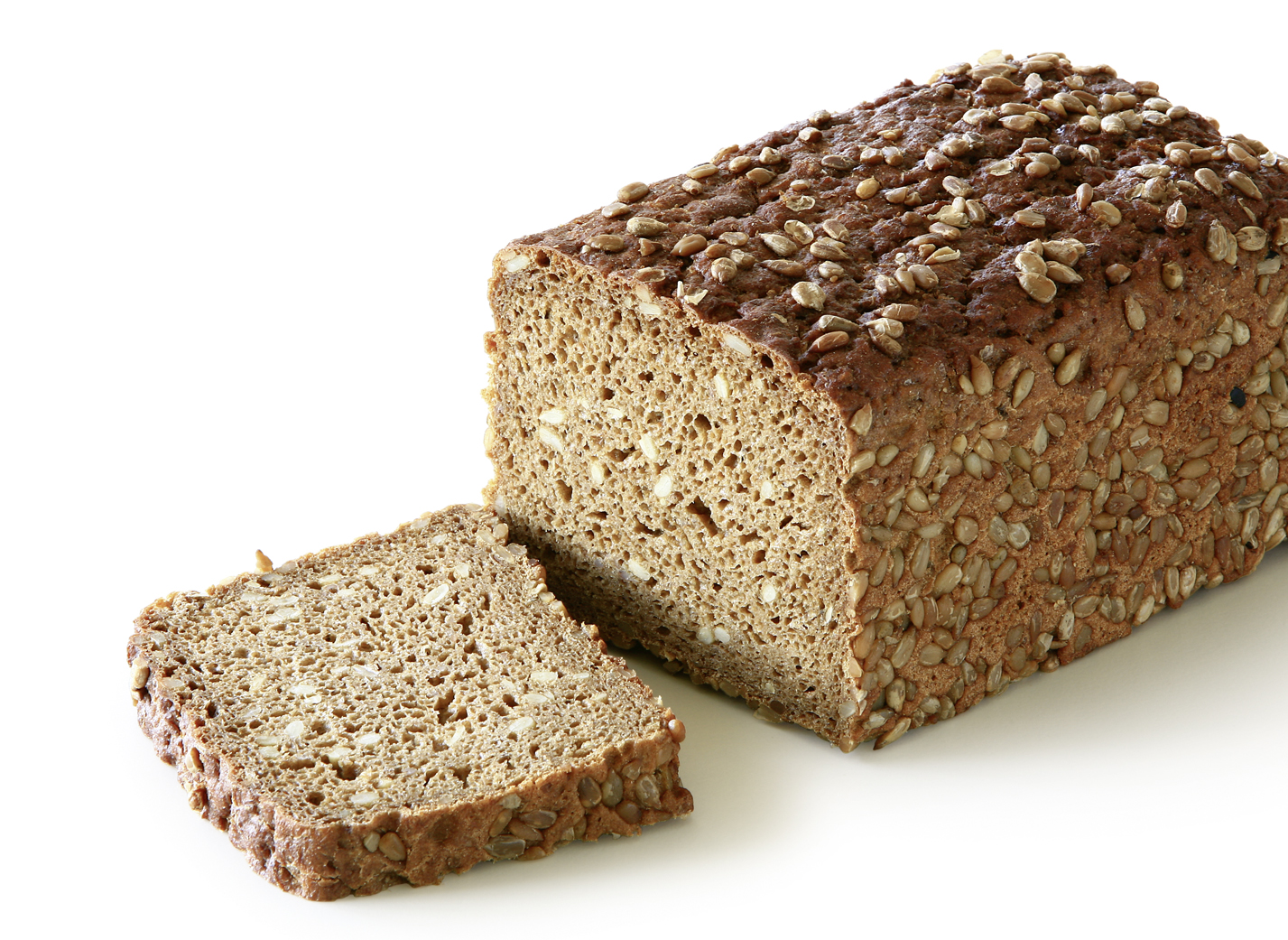 Sunflower seed bread - Wholemeal bread with 10% sunflower seeds length: 20 cm