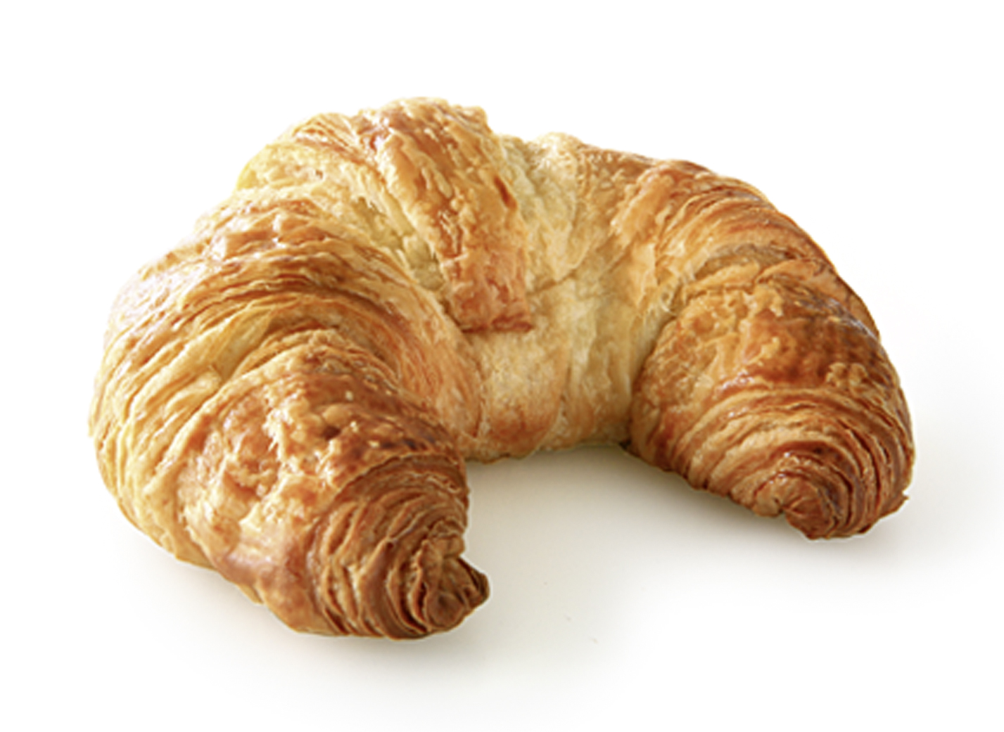 Butter-Croissant - Dough pastry with 20% butter and egg
