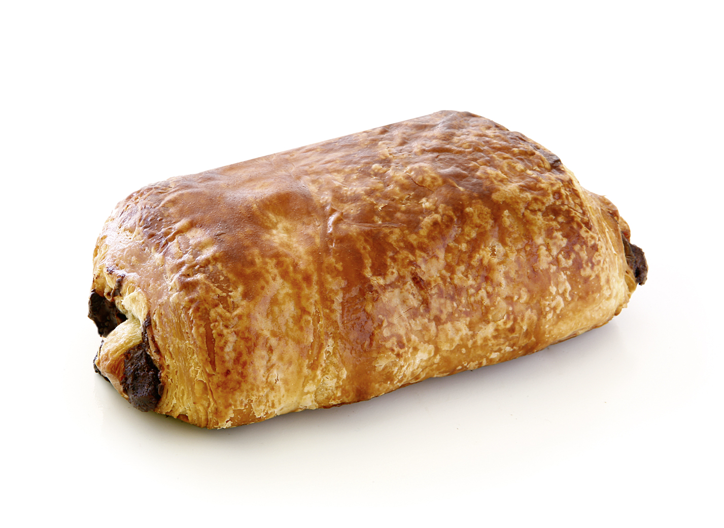 Butter-Chocolate Roll - Puff pastry with 22% butter/ filled with 12% original Belgium chocolate