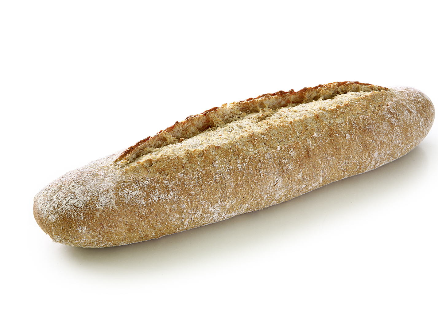 Natural Baguette with Ancient Grains - Spelt mixed bread with spelt flour, wholegrain spelt flour, emmer flour, perennial rye, sea salt and sour dough/ length: approx. 38 cm