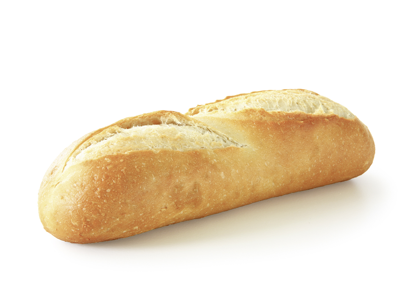 Baguette Roll - Wheat roll baked according to the French tradition length: 20.5 cm