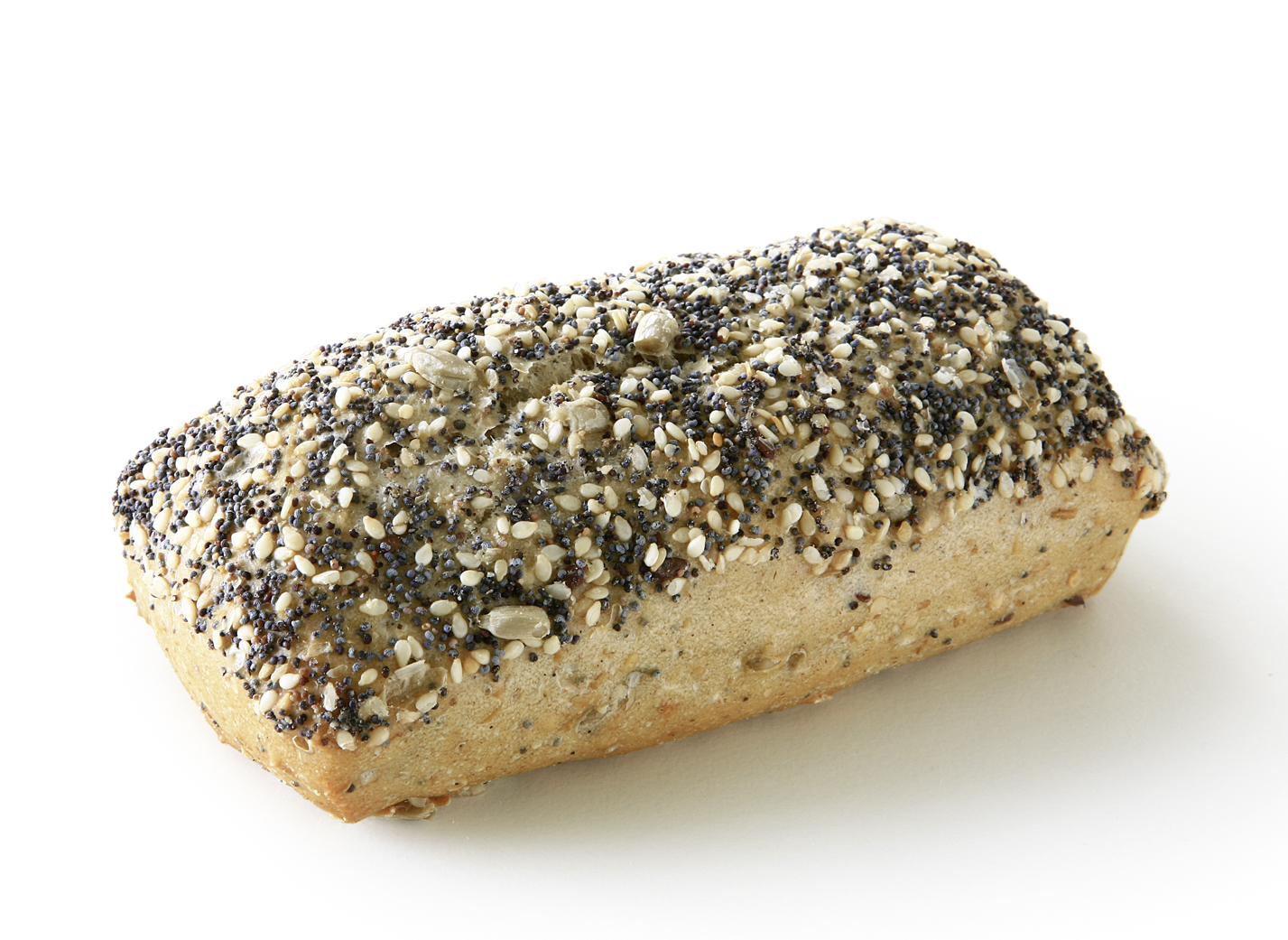 Fitness stick - Multigrain roll/ upper side: sprinkled with sesame, poppy and sunflower seeds bottom side: sprinkled with sunflower seeds