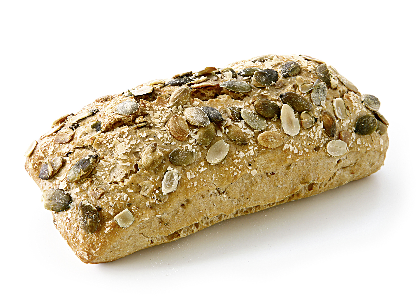 Potato-Pumpkinseed-Stick - wheat roll with 6,5% potato flakes, 6,5% pumpkin seeds and sunflower seeds